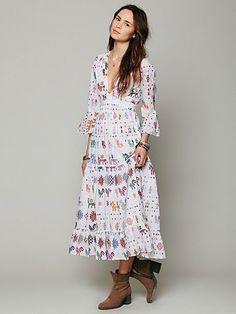 Vintage Maxi Dress  by Carolina K