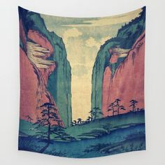 Amazed at Dinyia Wall Tapestry by Kijiermono @society6 #home #decor #homedecor #apartment #dorm #student #college #house #japanese #japan #themed #landscape #nature #planet #earth #red #green #sky #products #chic #fashion #style #gift #idea #society6 #design #shop #shopping #buy #sale #fun #accessory #accessories #art #contemporary #cool #hip #awesome #sweet