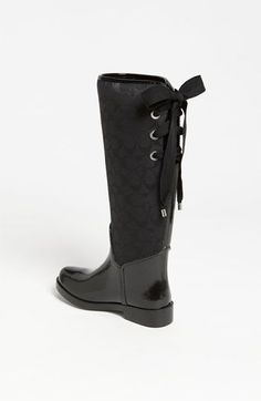 COACH 'Tristee' Rain Boot (Women) | Nordstrom..NEED ASAP LIKE .. NOW!!!
