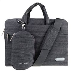 ivencase  Laptop Shoulder Bag Suit Fabric Portable Case for all 15156 inch Laptop  Notebook  Computer  MacBook Pro 154  MacBook Pro with Retina Display 154 Briefcase Carry Cover  Dark gray -- For more information, visit image link.