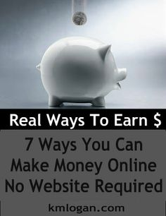 How To Make Money Online, No Website Required.  Pinner says, these ways actually worked for me, not get rich quick, but extra income is always nice.
