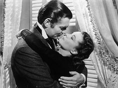 """Gone with the Wind""  Scarlet and Rhett"