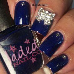 Sassy Sapphire, the glossy version.
