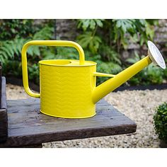 Buy Orla Kiely Oval Flower Print Watering Can Online at johnlewis.com