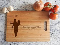Personalized Cutting Board Wood wooden wedding gift anniversary date names birds heron Anniversary Dates, Wedding Anniversary Gifts, Wedding Gifts, Wedding Blog, Wall Decor Stickers, Wall Decals, Personalized Cutting Board, Groomsman Gifts, Just Married