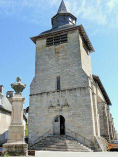 Église Saint-Martial de Corrèze. Limousin