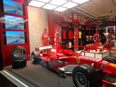 FERRARISTORE   new Ferrari Store is now open in Rio de Janeiro #ferraristore
