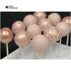 Ideas cake pops ideas glitter bridal shower for 2019 Bridal Shower Cupcakes, Baby Shower Cake Pops, Wedding Cake Pops, Wedding Cake Toppers, Cakepops, Cake Pop Displays, Blush Bridal Showers, Quinceanera Cakes, Glitter Cake