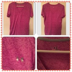 Women's Under Armour Heat Wear Shirt Gently Used Women's Under Armour Heat Gear V Neck shirt. Very lightweight,  size XL. Great to workout in Under Armour Tops Tees - Short Sleeve