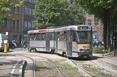 Met de tram door Brussel rijden is ook een optie. De tarieven zijn te vergelijken met de bustarieven.