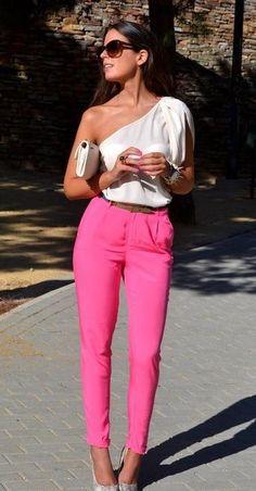 Pink in all shades-key hue in this upcoming season #fall2012