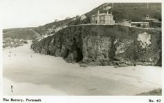 Places In Cornwall, My Family History, Connemara, Present Day, Old Photos, Mount Rushmore, England, Mountains, Beach