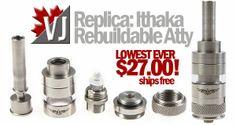 Replica: Ithaka Rebuildable Atomizer at Focal Ecig