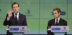 Rajoy und Sarkozy: Die Konservativen in Spanien und Frankreich kämpfen für die Beibehaltung des Status Quo in der Euro-Zone. (Foto: dpa)