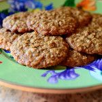 Brown Sugar Oatmeal Cookies from the Pioneer Woman...Ree Drummond. She describes them as flat and chewy. Must try them soon.