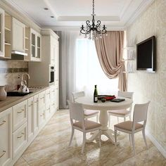 Texture brings a room to life like nothing else. The professionals fuse with aplomb, marrying leather with… Cozy Kitchen, Stylish Kitchen, Home Decor Kitchen, Home Kitchens, Small Space Interior Design, Interior Design Living Room, Dining Room Design, Kitchen Design, Home Decor Styles