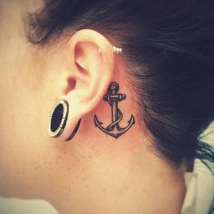 Behind the Ear Tattoos. Teen girls and boys like getting tattoos behind their ears. The tattoos are an amazing art and especially for a first time tattoo. They are less visible and therefore, you will easily get used to wearing tattoos. The tattoos behind the ears form a great beginning in the journey to world of tattoos.