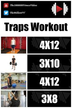 4 Exercises Monster Traps Workout #traps_workout_for_men #traps_workout_bodybuilding #bigger_traps_workout #monster_traps_workout