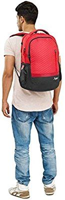 Skybags Lazer 01 Red Laptop Backpack on Amazon