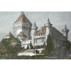 photo chateau vufflens suisse - Recherche Google Barcelona Cathedral, Building, Google, Travel, Viajes, Buildings, Trips, Traveling, Tourism