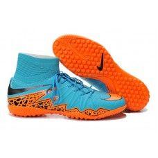 Oferta Nike Hypervenom Phelon 2 TF Azul Naranja zapatillas de fútbol  baratas Azul Naranja 25c7dd8ed3b