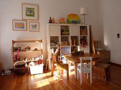 Image result for minimal waldorf playroom