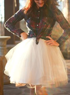 2015 Fashion Skirt, Street Style Skirt,Tulle Skirt,Charming Women Skirt,spring Autumn Skirt ,A-Line Skirt Country Outfits, Country Style Bridesmaid Dresses, Flower Girl Dresses Country, Flower Girls, Bridesmaid Ideas, Wedding Dresses, Bridesmaids, Flannel Wedding Dress, Tulle Skirts