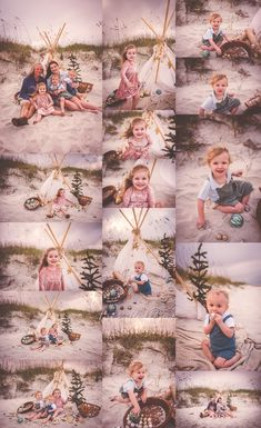 Christmas holiday beach mini session by Tara Merkler Photography in Central Florida