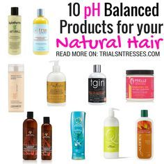 Balancing the pH of your hair is crucial to length retention. Here are the 10 best pH balanced products for your natural hair you should try.