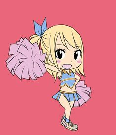 Chibi Lucy is so kawaii <3