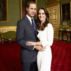 Official potrait 2011 Prince William and Kate Middleton by gloriaU Kate Middleton Wedding Ring, Style Kate Middleton, Princesse Kate Middleton, Kate Middleton Prince William, Prince William And Catherine, Prince William And Kate, Duchesse Kate, Prinz William, Queen Kate