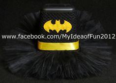 Bat Girl Halloween Tutu. costume idea $20