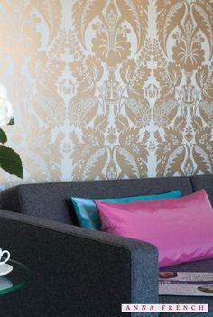 『Import Wallpaper TECIDO ANNA FRENCH AT10053』 http://item.rakuten.co.jp/interior-cozy/at10048-at10054/ #wallpaper #interior #diy #uk #輸入壁紙 #壁紙