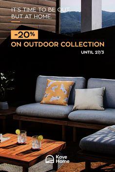 Outdoor Sofa, Outdoor Furniture, Outdoor Decor, Minimal Living, Athens, Minimalism, Greece, Interiors, Living Room