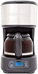 Christmas deals week 12 Volts FARBERWARE Stainless Steel 5-Cup Programmable Coffee Maker
