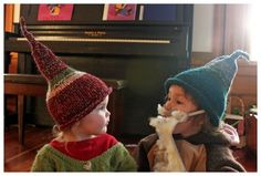 can't take how dang cute these gnome hats are!!.