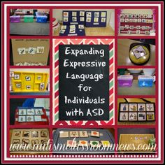 Autism Classroom News: Expanding Expressive Language for Individuals with ASD