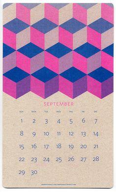 FPO: 2013 Isometric Risograph Calendar