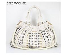 Miu Miu Classic Studded Leather Shoulder Bag White Miu Miu bags, Miu Miu handbags, Miu Miu outlet