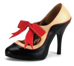 Retro Rosie Heels.  I have a love for vintage/retro styles in clothing & home decor.