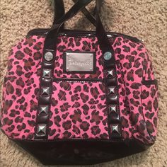 Besty Johnson purse Fun bag, perfect for any occasion, and great size! Betsey Johnson Bags Shoulder Bags