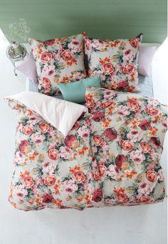 Bettwäsche Botanisch Gärten Blumenmuster Türkis Rosa Quilt Bettwäsche Set Doppel Oder King Einfach Zu Verwenden