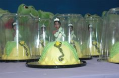 Princess Tiana Mini cakes