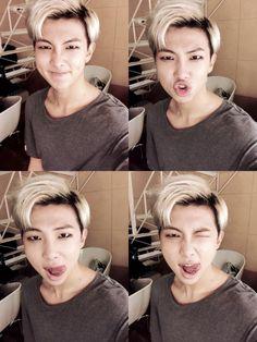 Rap Monster l God of Destruction l Kim Namjoon ♥️ Bts Jimin, Bts Bangtan Boy, Kim Namjoon, Kim Taehyung, Jung Hoseok, Foto Bts, K Pop, Bts Memes, Rapper