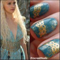 ProcrastiNails: Game of Thrones Nail Art Series