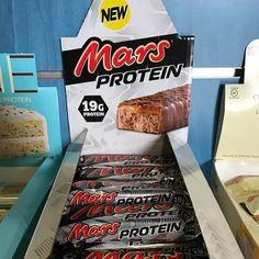 Ya en tienda las barritas mars de proteina Todo esto y más en www.ironcansport.com