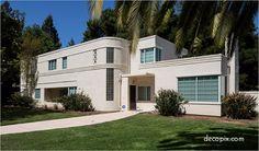 #ArtDeco | Davis House, Atherton, California