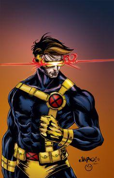 Cyclops by *MarcBourcier on deviantART