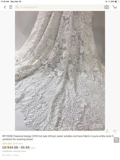 Lace Wedding, Wedding Dresses, Lace Fabric, Tops, Women, Fashion, Bridal Dresses, Moda, Bridal Gowns