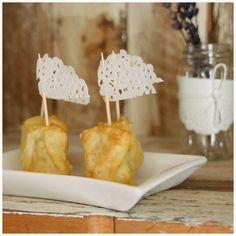 mozzarella and jamon serrano dumplings. on my blog: http://ytanflamenca.blogspot.com